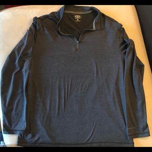 G.H. Bass & Co. long-sleeve 1/4 zip-up, Adult Med